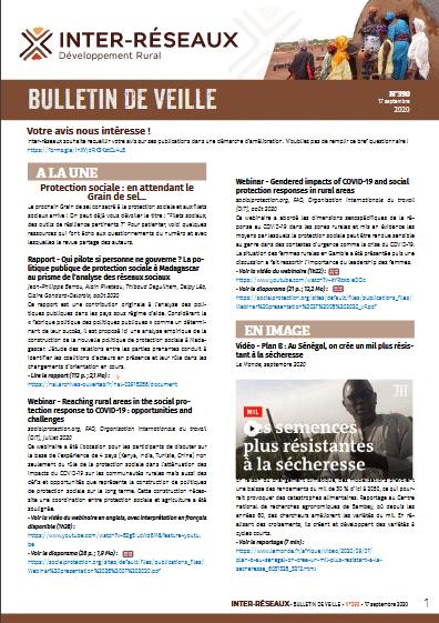 Bulletin de veille n°390