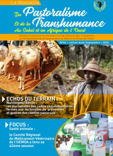 Bulletin trimestriel d'information et de diffusion des innovations sur le Pastoralisme et la Transhumance au Sahel et en Afrique de l'Ouest