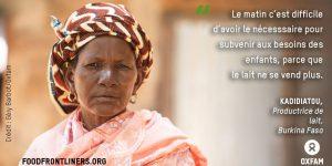 Communiqué -  Pandémie de la faim en Afrique de l'Ouest : des seuils historiques atteints