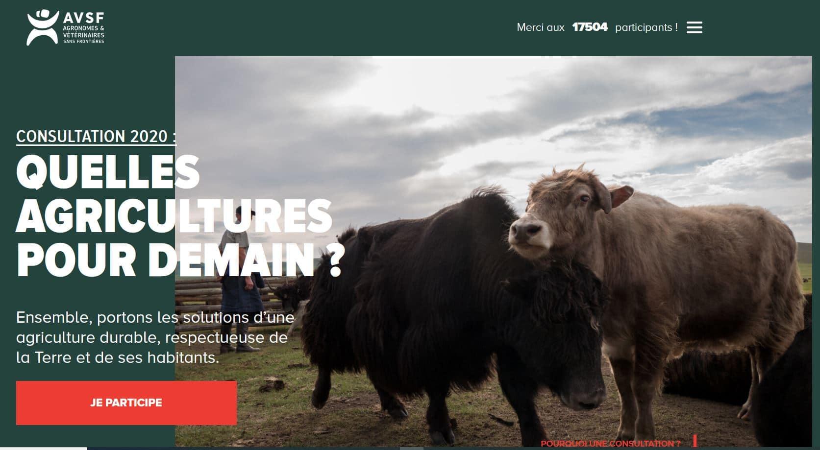 Consultation - Quelles agricultures pour demain ?