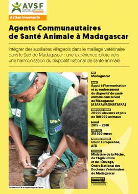 Fiche innovation : Agents Communautaires de Santé Animale à Madagascar