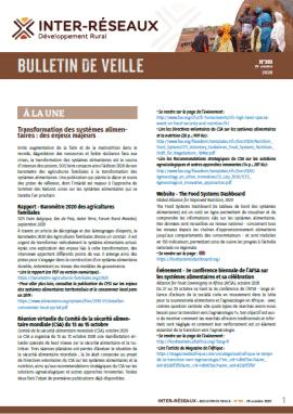 Bulletin de veille n°393