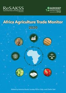 Rapport - 2020 Moniteur du commerce agricole en Afrique