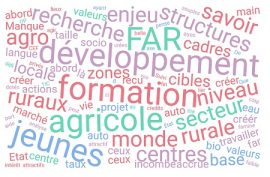 """Article - RÉSULTATS DE L'ENQUÊTE """"QUELS ENJEUX DU DÉVELOPPEMENT DE LA FORMATION AGRICOLE ET RURALE ?"""""""
