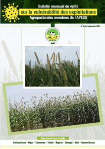 Bulletin mensuel de veille sur la vulnérabilité des exploitations agropastorales