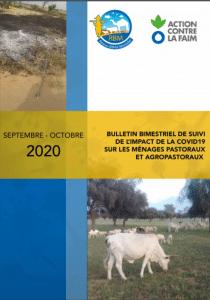 Bulletin bimestriel Septembre Octobre 2020 sur le suivi de l'impact de la pandémie de la COVID 19