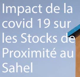 Impact de la COVID-19 sur les stocks de proximité au Sahel
