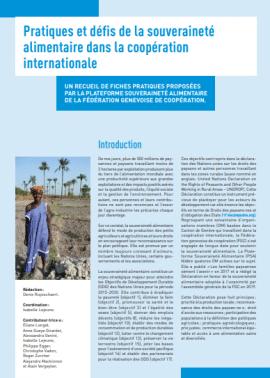 Recueil de fiches - Pratiques et défis de la souveraineté alimentaire dans la coopération internationale