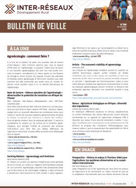 Bulletin de veille n° 395