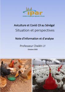 Note d'information et d'analyse - Aviculture et covid-19 au Sénégal