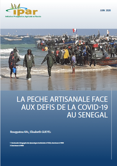 Rapport - La pêche artisanale face aux défis de la covid-19 au Sénégal