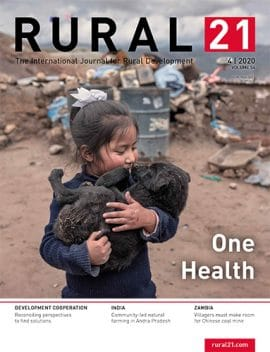Review - Rural 21 - Volume 54 N°4- One health