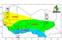 Prévisions Saisonnières des pluies en Afrique de l'Ouest, au Tchad et au Cameroun pour la période juillet-septembre 2009