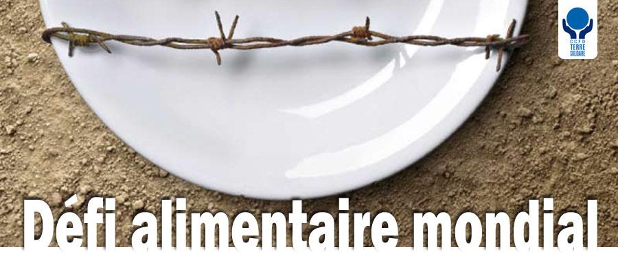 Responsabilité alimentaire mondiale : L'Union européenne et les Etats-Unis doivent impulser une nouvelle politique