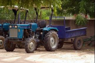 La vente de tracteurs au Niger