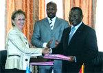 Signature de convention : Vingt milliards de F CFA pour accroître la productivité