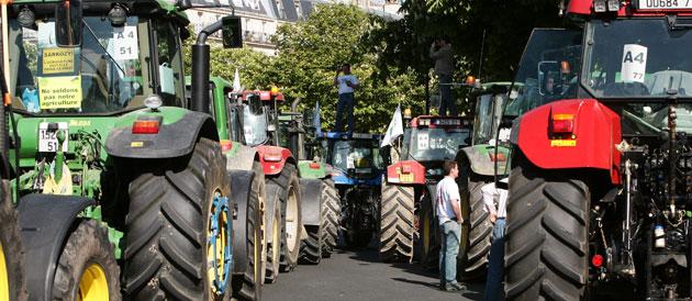 Les céréaliers rattrapés par la crise du monde agricole français