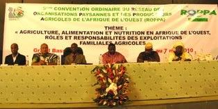 3e Convention extraordinaire et 5e Convention ordinaire du ROPPA