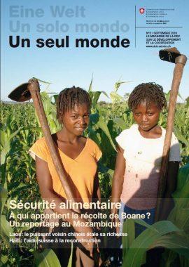 """""""Un Seul Monde"""" Dossier sécurité alimentaire"""