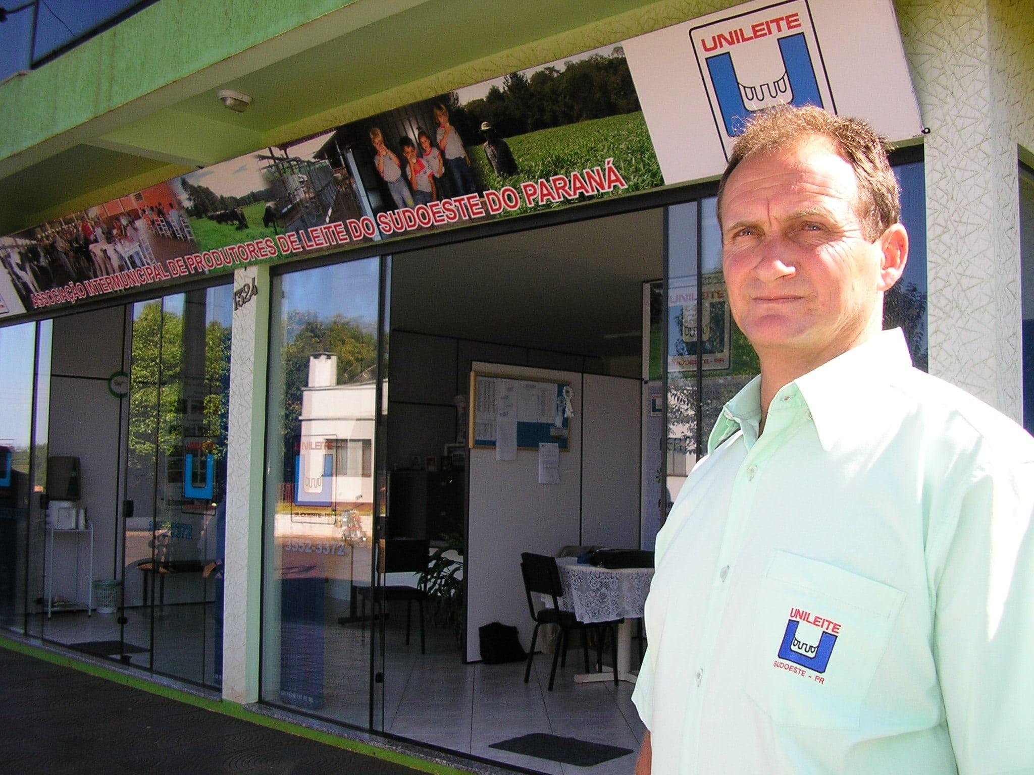 Entretien avec Moacir Klein,  président de l'association Unileite au Brésil