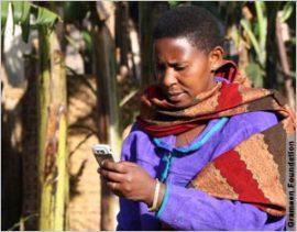 Les téléphones portables livrent aux agriculteurs ougandais des informations vitales