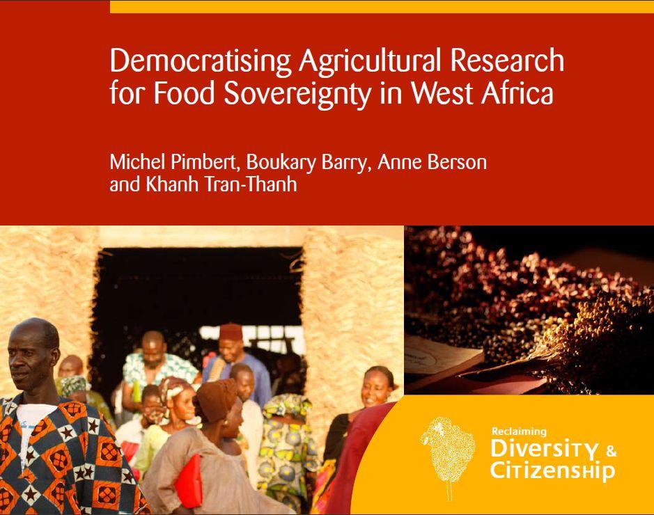 Démocratiser la recherche agricole pour la souveraineté alimentaire en Afrique de l'Ouest
