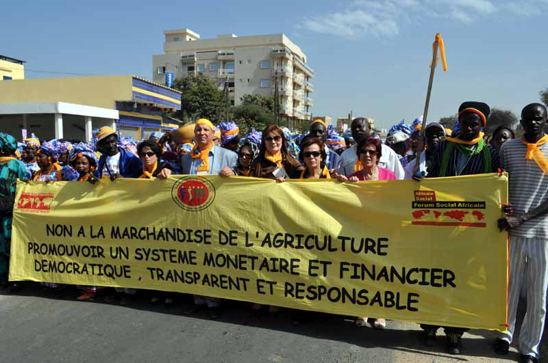 A Dakar, la revendication du Droit à la Souveraineté Alimentaire était omniprésente !