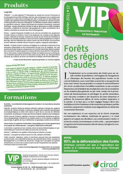 La lettre Valorisation et innovation en partenariat