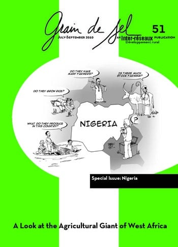 Grain de sel No. 51: Nigeria. A Look at the Agricultural Giant of West Africa