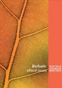 Biofuels: ethical issues