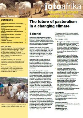 The future of pastoralism in a changing climate