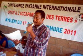 Nyéléni : « Stop à l'accaparement des terres ! »