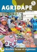 Agridape n°27.3 : Marchés locaux et régionaux