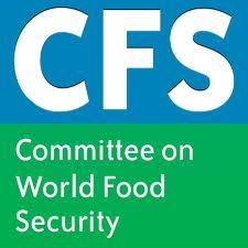 15 au 20 octobre 2012, Rome - 39ème session du Comité de la sécurité alimentaire mondiale