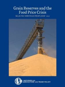 Grain Reserves and the Food Price Crisis: Selected Writings from 2008–2012
