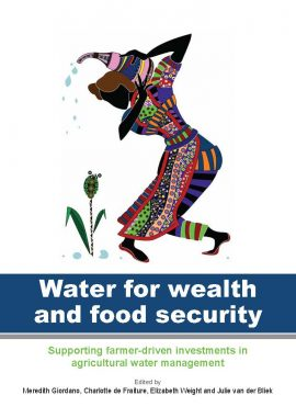 Water for wealth and food security