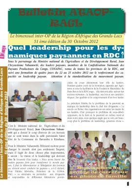 Bulletin ATAOP-RAGL (n°51)