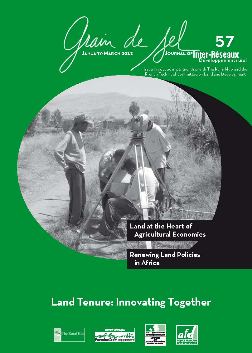 Grain de sel N°57 - Land Tenure: Innovating Together