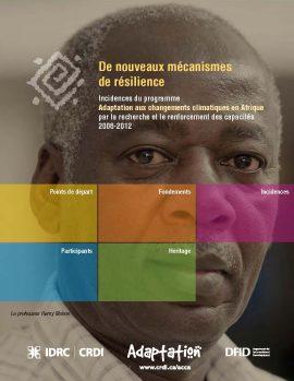 De nouveaux mécanismes de résilience : rapport interactif au sujet du programme ACCA
