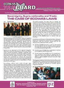 Ecowas Vanguard - NANTS Regional Trade Advocacy Series
