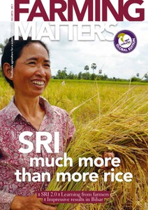 Farming Matters : SRI - more much than more rice