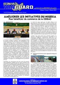 Ecowas Vanguard (NANTS) : Améliorer les initiatives du Nigeria pour bénéficier du commerce de la Cedeao (mars 2013)