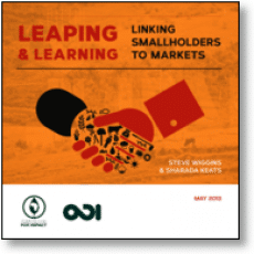 Report ODI : linking smallholders to markets