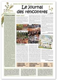 Le Journal des Rencontres internationales des Maisons des semences paysannes