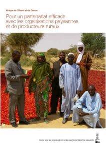 Publication FIDA: Pour un partenariat efficace avec les organisations paysannes et de producteurs ruraux