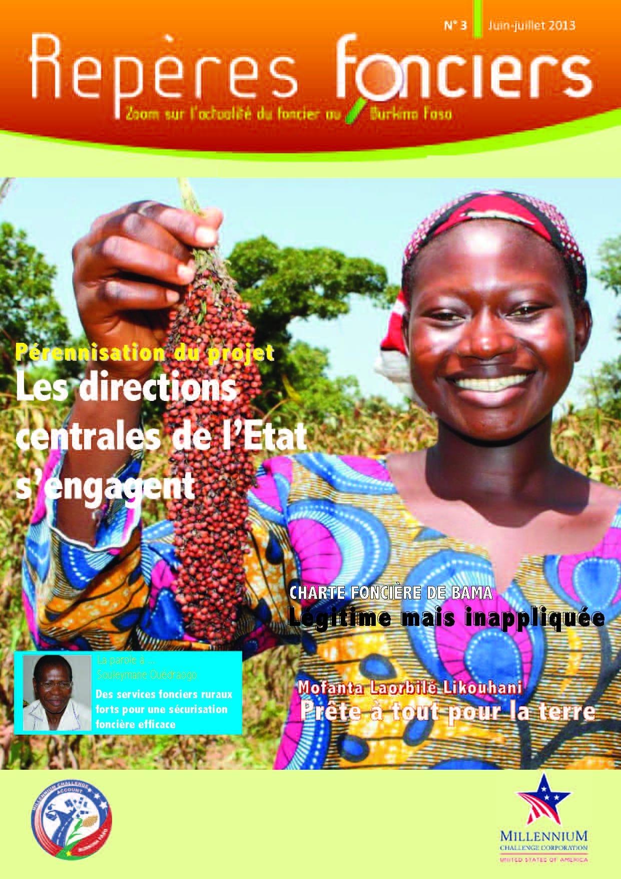 Repères fonciers n°3 : Zoom sur l'actualité du foncier au Burkina Faso