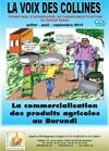 La voix des collines : La commercialisation des produits agricoles au Burundi