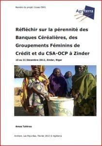 Agriterra : Réfléchir sur la pérennité des Banques Céréalières