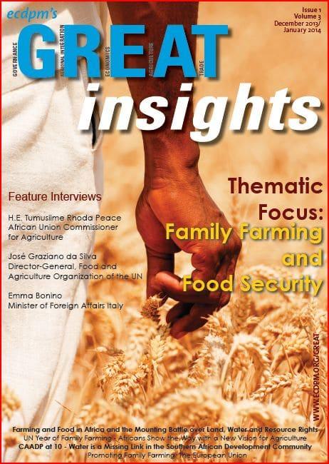 Publication Ecdpm : GREAT Insights (décembre 2013 - janvier 2014)
