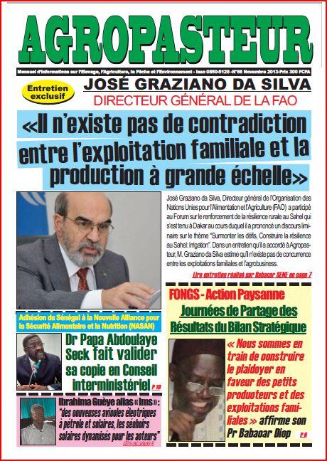 Revue Agropasteur n°66 (novembre 2013)